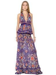roberto cavalli flower printed silk georgette dress multicolor women clothing dresses roberto cavalli shoes