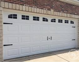 garage door kitGarage door decal  Etsy