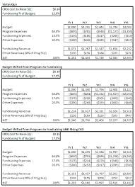 Sample Budget Non Profit Organization Proposal For Vuezcorp