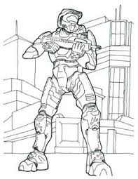halo 4 colouring pages
