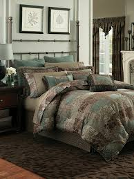 amazoncom croscill galleria california king piece comforter