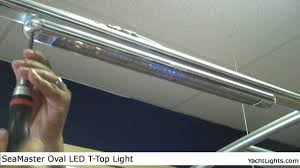 Taco Led T Top Light Seamaster Oval T Top Led Light By Yachtlights Com