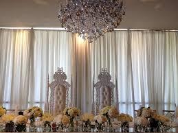 bridal thrones wedding thrones white thrones elegant regal throne event hire