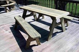 furniture diy round bench ft picnic table detached es plans redwood with rhpointgreypicturescom how to build