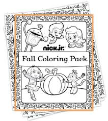 Small Picture Coloring Page Nick Jr Halloween Coloring Pages Coloring Page
