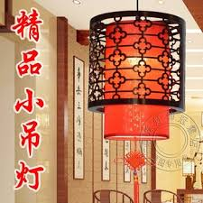get ations modern chinese red lantern chandelier lamp chandelier balcony aisle hotel dining room chandelier lighting lamps wooden