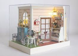 where to buy miniature furniture. Simple Furniture Hot Salefunny Doll House Model Building Kits Handmade 3d Miniature For  Kids Wooden Dollhouse Toy Cheap Wooden Furniture Buy Houses From  With Where To N