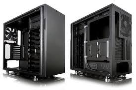 Fractal Design Define R5 Blackout Silent Fractal Designs Define R5 Now Available In Blackout Edition