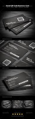 Business Cards With Social Media Contact Information