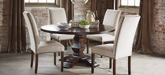 circular dining table room