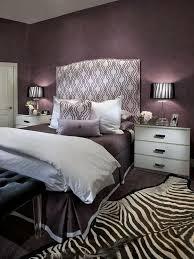 Black White Purple Bedroom Ideas 3