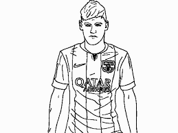 Beautiful Soccer Coloring Pages Messi Democraciaejustica Best