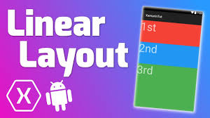 Xamarin Android Layout Design Linear Layout Quick Tutorial Xamarin Android
