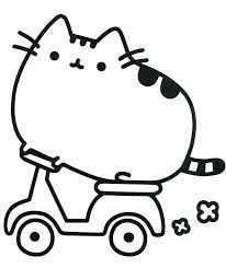 Coloring Pages Pusheen Free Download Best Coloring Pages Pusheen