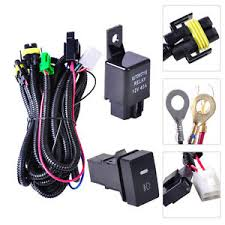 fog light wiring harness sockets wire led indicators switch image is loading fog light wiring harness sockets wire led indicators