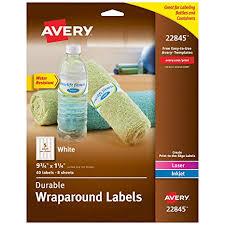 Avery Jar Labels