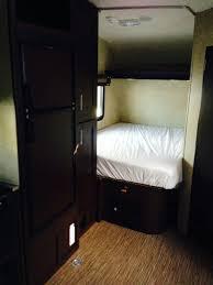 sleeping area 2016 20 toy hauler