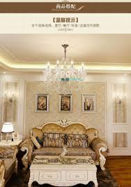 Großhandel Moderne Kristall Kronleuchter Wohnzimmer Lustres De Cristal Dekoration Tiffany Anhänger Und Kronleuchter Hause Beleuchtung Innen Lampe Von