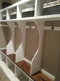 Mudroom Cubbies Plans Mudroom Lockers Diy Garage Mudroom Lockers With Lots Of Storage