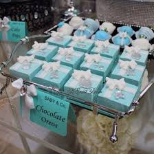 124 Best Tiffany Blue Baby Shower Images On Pinterest  Baby Girl Tiffany And Co Themed Baby Shower