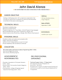 resume templates you can jobstreet philippines resum samples
