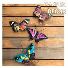 Add stylish décor with free shipping over $35. Vokproof Metal Butterfly Wall Decor 4 Pack Butterflies Art Decorations For Outdoor Garden Patio Fence Pricepulse