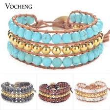 image is loading 10pcs lot wrap bracelet handmade jewelry bead woven