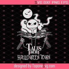 10 easter eggs fans missed in halloween town 18 november 2020 | screen rant. Jack Skellington Halloween Tales From Halloween Town Svg Nightmare Before Christmas Svg Png Dxf Eps Toponesvg