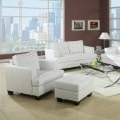 Gray leather living room furniture Decorating White Black Or Red Bonded Leather Living Room Sofa Woptions Furniture Depot Leather Living Room Sets