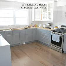installing ikea kitchen cabinetry