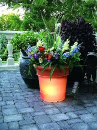 flower bed ideas with pots patio flower container ideas