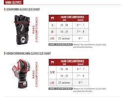 Boxing Glove Size Chart Size Chart