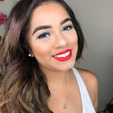 holiday makeup easy red white and blue