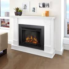 best mantel real flame silverton 48 in electric fireplace