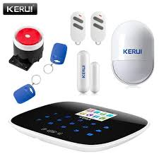 kit diy quality kit kits directly from china kit gsm suppliers 2017 new arrival kerui wifi gsm pstn rfid wireless smart home security alarm