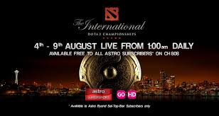 astro offers the international 2015 dota 2 championships live