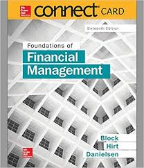 Access Financial Management Connect 1 Semester Access Card For Foundations Of Financial