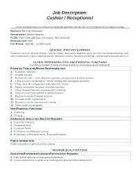 Hostess Duties Resume From Resume Profile Examples Resume Job
