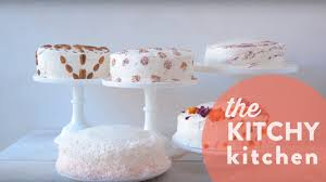 5 Easy No-Skill Cake Decorating Ideas // The Kitchy Kitchen - YouTube