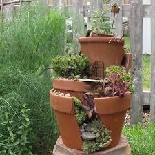 fairy garden in pot