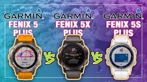 Garmin Fenix 5 Plus Vs 5x Vs 5s Comparison Review