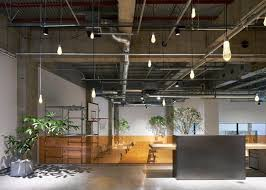 Office Space Designers Best Multilevelled Surfaces Of Polished Concrete Wood And White Gravel