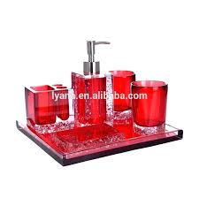 red glass bathroom accessories. Red Glass Bathroom Accessories Uk E