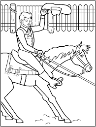 Small Picture Enjoyable Inspiration Rodeo Coloring Pages Bull Riding Rodeo Page