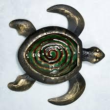 turtle wall art metal