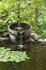 used pond fountains for sale. Exellent For This Is What I Want To Do Only The Water Would Have Stay In U0027tubu0027  Donu0027t A Pond But Fountain Flower Bedany Ideas On  For Used Pond Fountains Sale Pinterest
