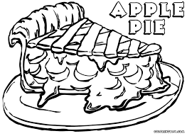 Small Picture Apple Pie Coloring Pages Coloring Home