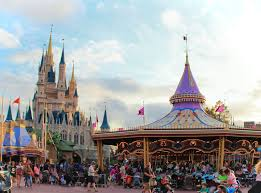 disney world s magic kingdom at sunset in orlando florida a cast member s guide to