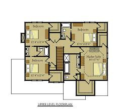 2 Story 4 Bedroom Floor Plan With 2
