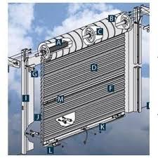 rollup garage doorHome Hardware  5 x 68 White RollUp Garage Door